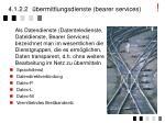 4 1 2 2 bermittlungsdienste bearer services