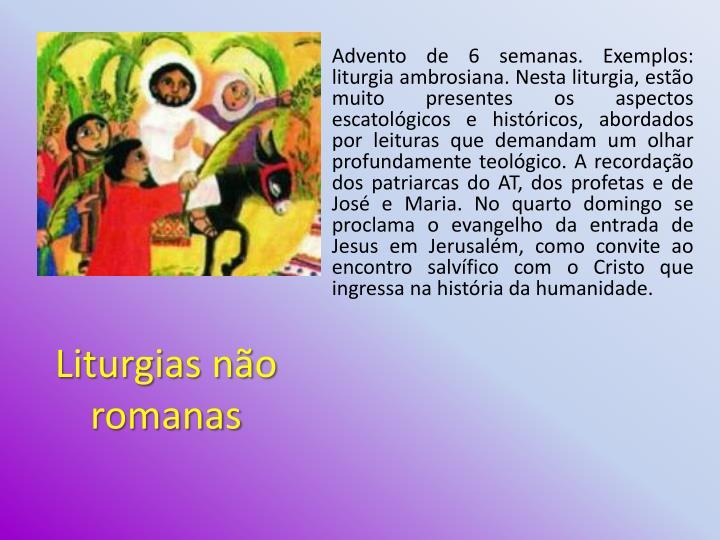 Liturgias não romanas