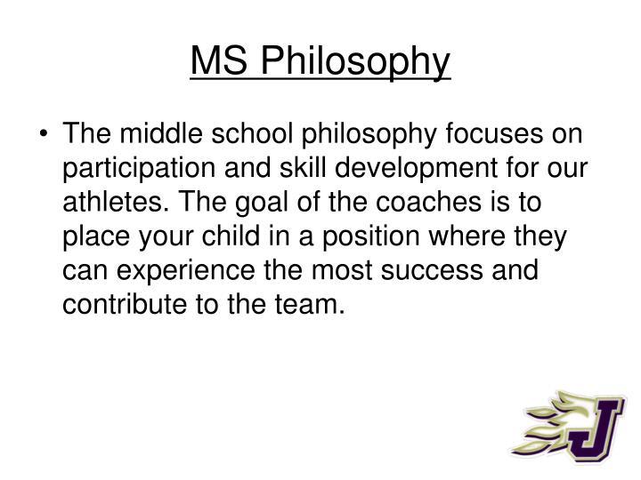 Ms philosophy