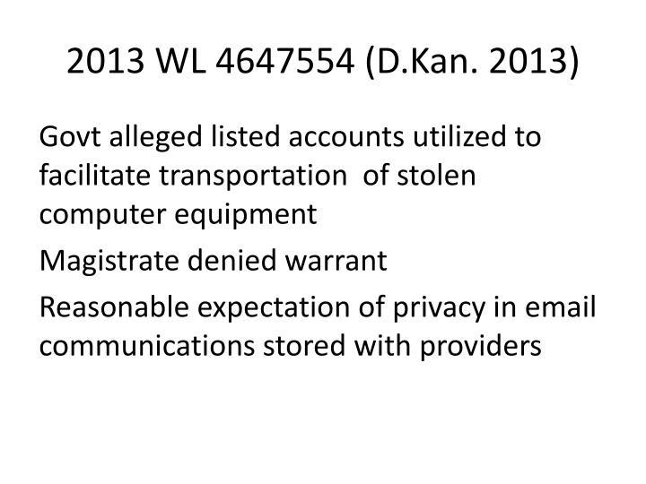 2013 WL 4647554 (