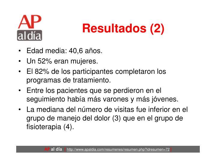Resultados (2)