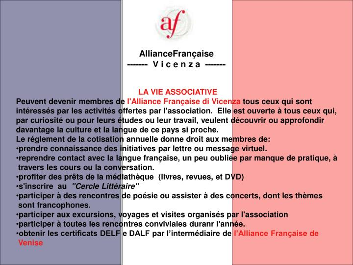 AllianceFrançaise