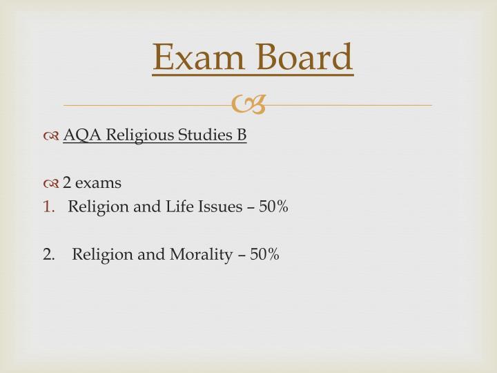 Exam Board