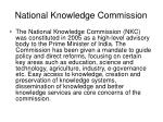 national knowledge commission