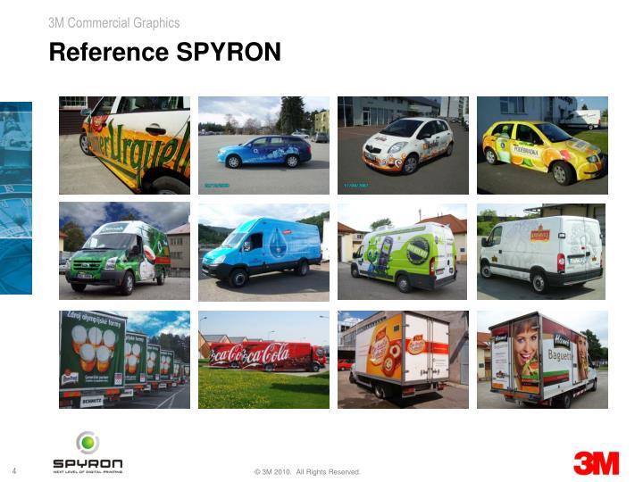 Reference SPYRON