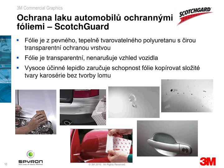 Ochrana laku automobilů ochrannými