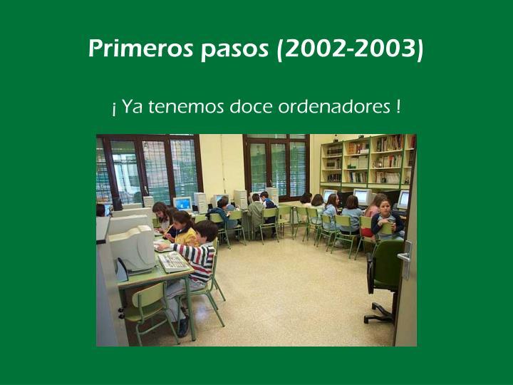 Primeros pasos (2002-2003)