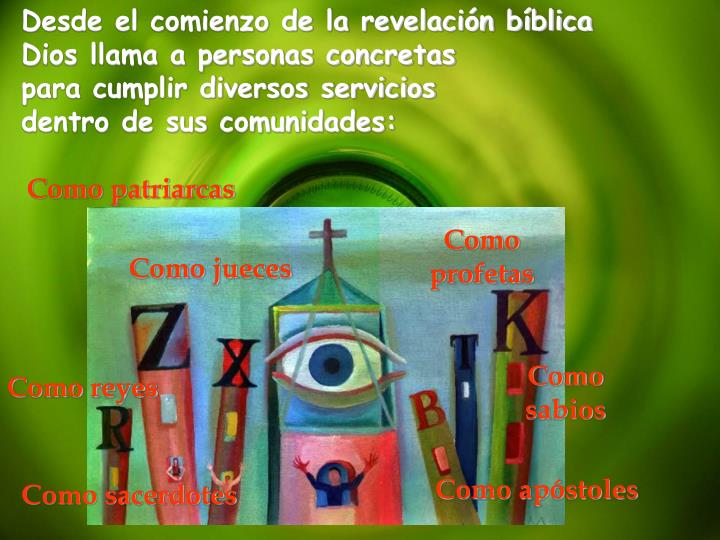 Desde el comienzo de la revelación bíblica