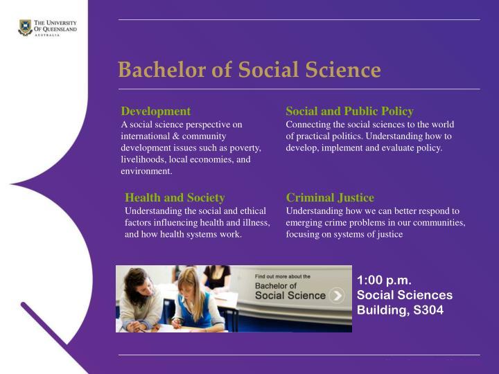 Bachelor of Social Science