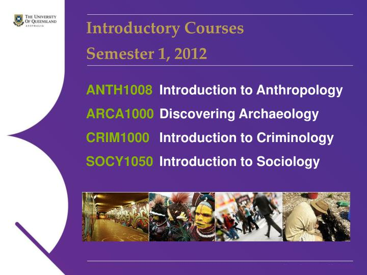 Introductory Courses