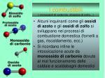 i combustibili monossidi di carbonio diossina di zolfo