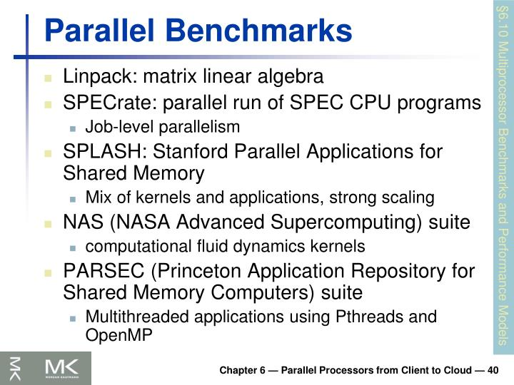 Parallel Benchmarks