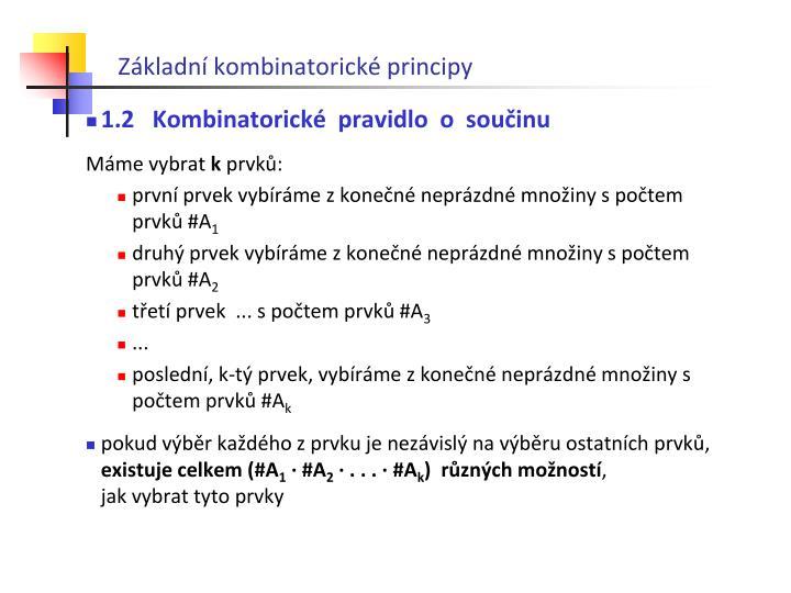 Z kladn kombinatorick principy1