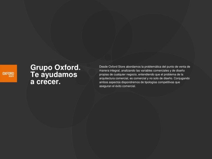 Grupo oxford te ayudamos a crecer