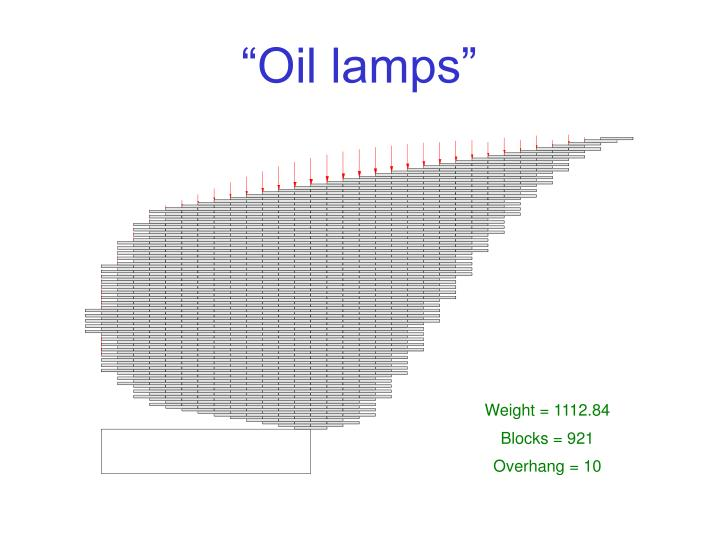 """Oil lamps"""