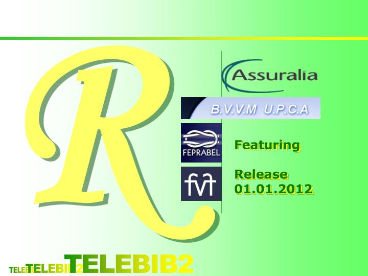 Featuring release 01 01 2012