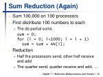 sum reduction again