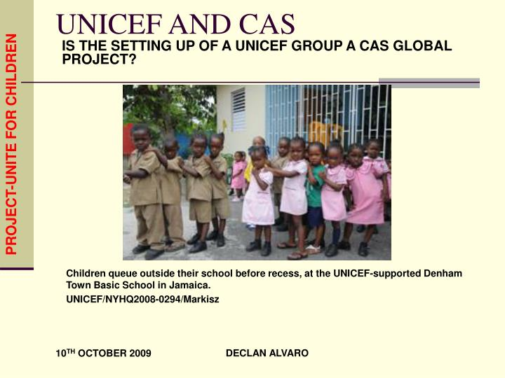 unicef and cas n.