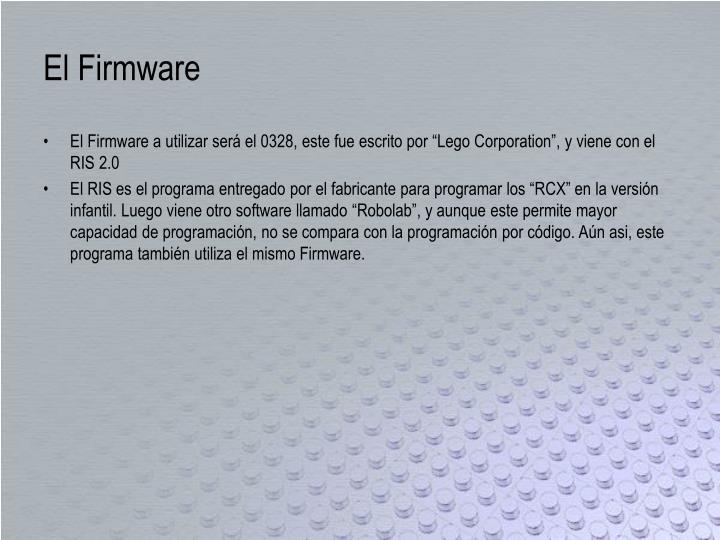 El Firmware