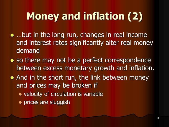Money and inflation (2)