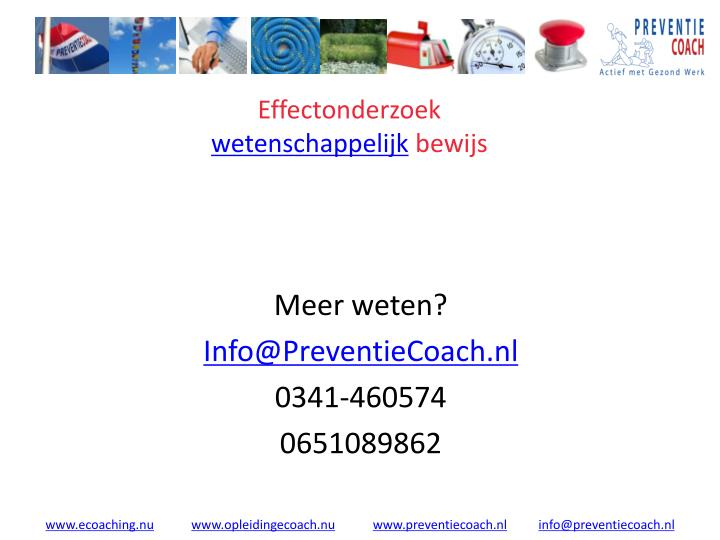 Effectonderzoek