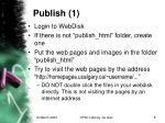 publish 1