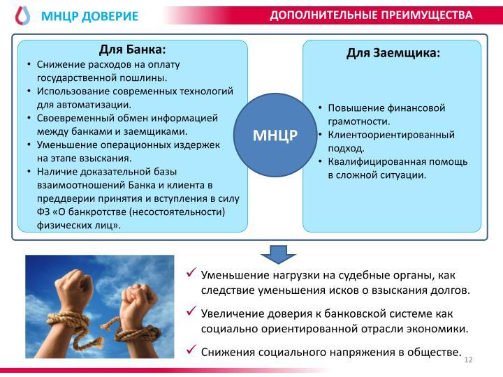 МНЦР ДОВЕРИЕ