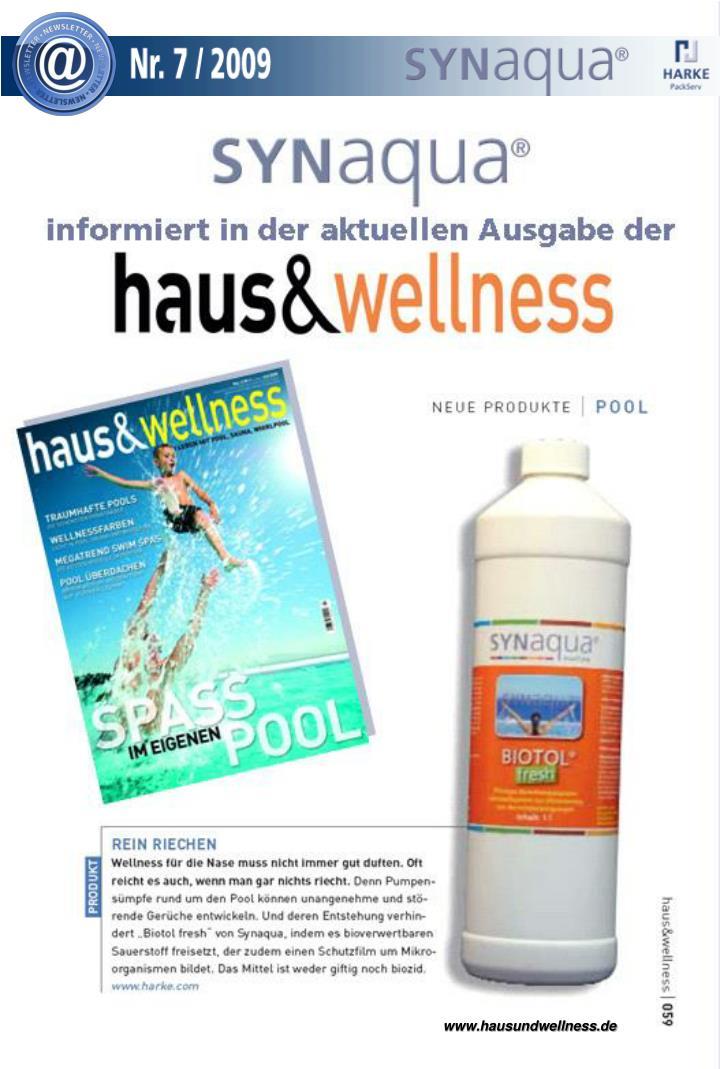 www.hausundwellness.de