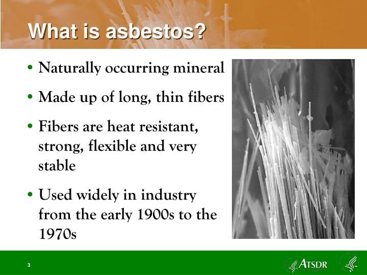 What is asbestos