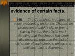 bank s slip prima facie evidence of certain facts