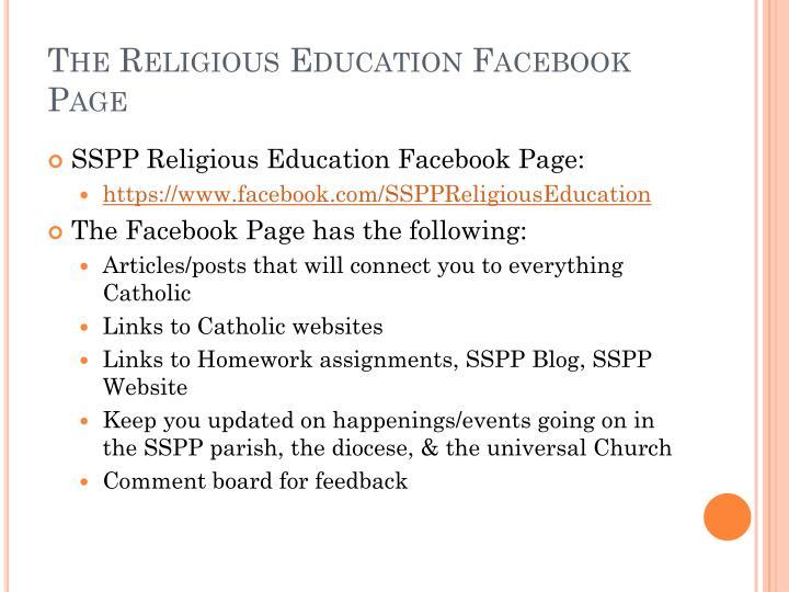 The Religious Education
