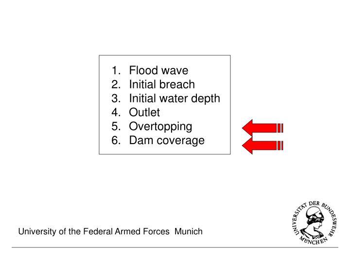Flood wave