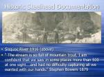 historic steelhead documentation