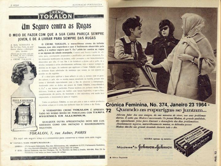 Crónica Feminina, No. 374, Janeiro 23 1964 - 72
