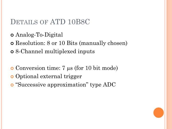 Details of ATD 10B8C