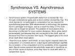 synchronous vs asynchronous systems