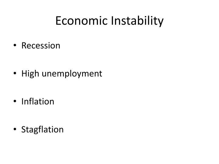 Economic Instability