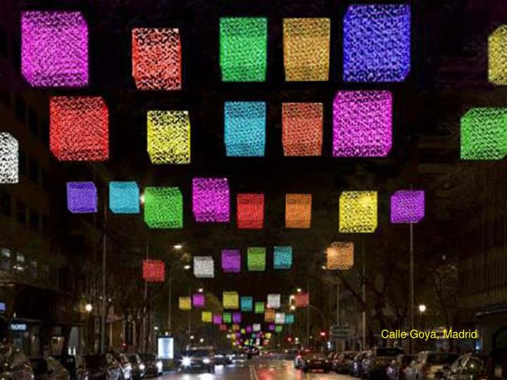 Calle Goya, Madrid