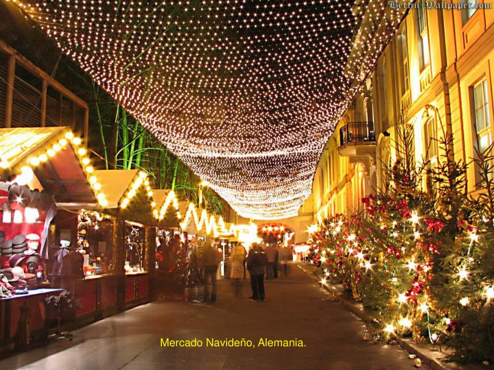 Mercado Navideño, Alemania.