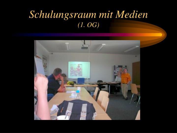Schulungsraum mit Medien