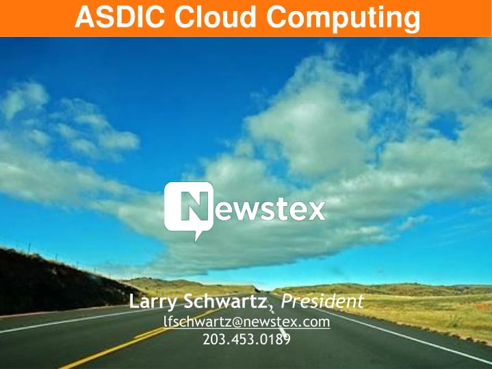 ASDIC Cloud Computing