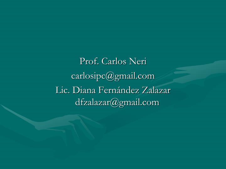 Prof. Carlos Neri