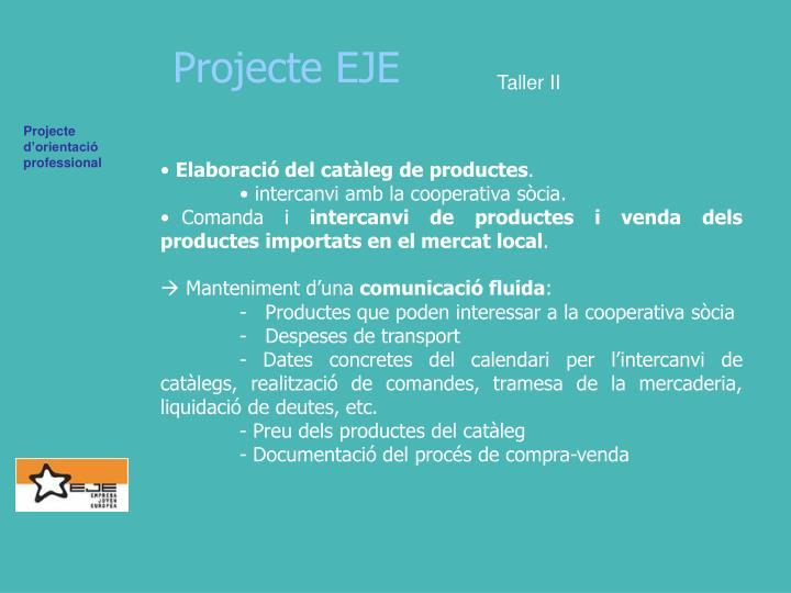 Projecte EJE