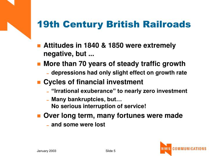 19th Century British Railroads