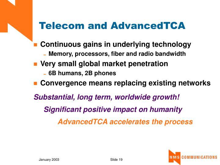 Telecom and AdvancedTCA