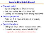 example etherswitch element