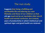 the nun study2
