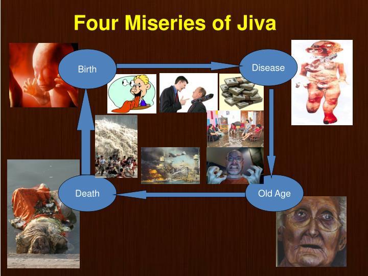 Four Miseries of Jiva