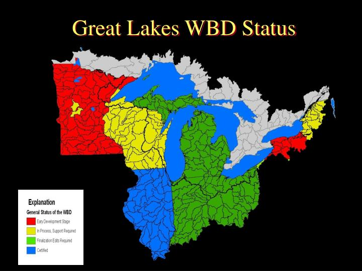 Great Lakes WBD Status