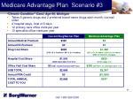 medicare advantage plan scenario 3